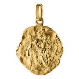 trendor 75256 Pendant St. Christopher Gold 585 (14 Carat) Ø 16 mm