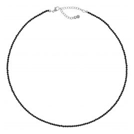 trendor 75345 Women's Necklace Black Spinel 40 cm