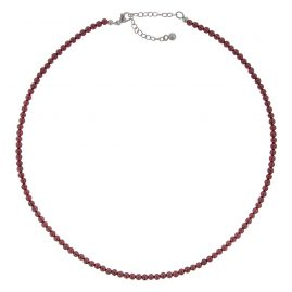trendor 75346 Ladies' Necklace Garnet 40 cm