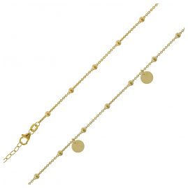 trendor 75688 Ladies' Necklace Gold Plated Silver 925 38 cm