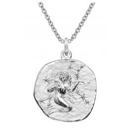 trendor 51610-09 Sternzeichen Jungfrau Ø 20 mm und Halskette 925 Silber