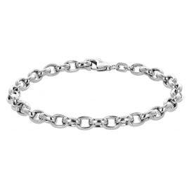 trendor 78957 Armband 925 Silber Erbsmuster