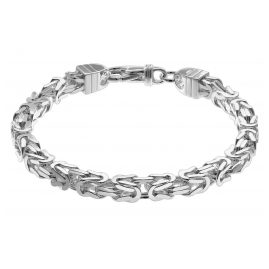 trendor 08797 Herren-Armband 925 Sterlingsilber Königskette 7,1 mm breit