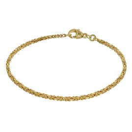 trendor 75153 Women's Byzantine Bracelet Gold 333 Thickness 1,8 mm