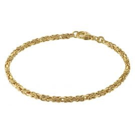 trendor 75296 Bracelet for Women Byzantine Chain Gold 333 (8 Carat)