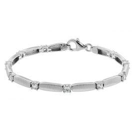 trendor 75585 Damen-Armband Silber 925 Zirkonia