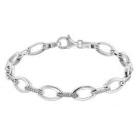 trendor 75593 Damen-Armband Silber 925 Zirkonia