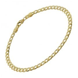trendor 75654 Ladies' Curb Chain Bracelet Gold 333 (8 Carat) 19 cm