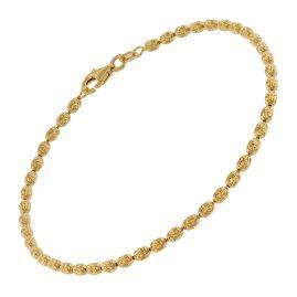 trendor 75659 Damen-Armband Armkette Silber Vergoldet