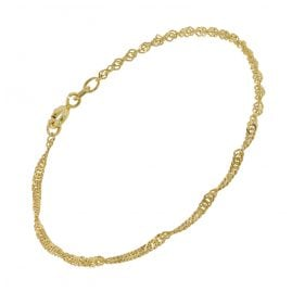 trendor 75664 Ladies' Bracelet Gold Plated Silver