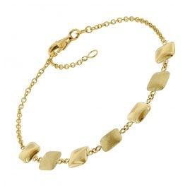 trendor 75668 Bracelet for Women 375 gold (9 Carat)