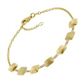 trendor 75668 Damen-Armband Armkette Gold 375 (9 Karat)