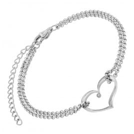 trendor 75893 Ladies' Bracelet Stainless Steel Heart