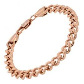 trendor 75894 Damen-Armband Edelstahl mit Roségold-Beschichtung 16 cm