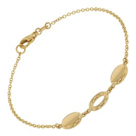 trendor 39013 Ladies' Bracelet Gold 585 (14 ct) Fantasy