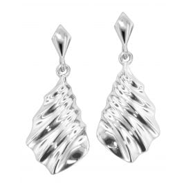 trendor 80739 Silver Ladies' Drop Earrings