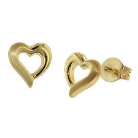 trendor 35928 Earrings Gold Heart