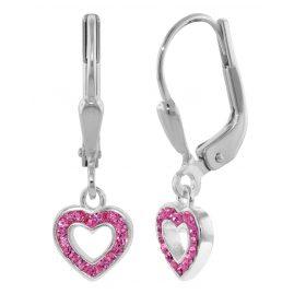 trendor 08311 Mädchen-Ohrhänger Silber