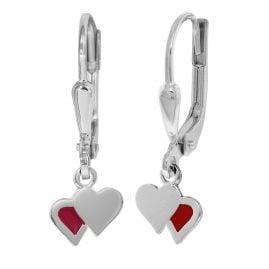 trendor 08534 Silber-Ohrringe für Mädchen
