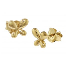 trendor 08770 Silver Earrings Gold-Plated