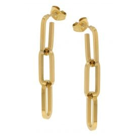 trendor 75897 Earrings Gold Plated Stainless Steel