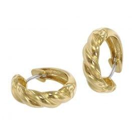 trendor 39065 Ladies' Hoop Earrings 333 Gold 8 Carat