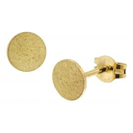 trendor 51030 Damen-Ohrringe Ohrstecker 333 / 8K Gold 6 mm