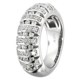 trendor 66769 Silver Ring Zirconia