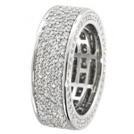 trendor 66868 Silber Ring mit Zirkonias
