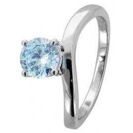 trendor 67865 Silver Ladies Ring