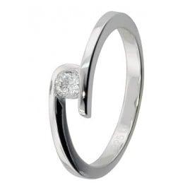 trendor 69364 Ladies Silver Ring