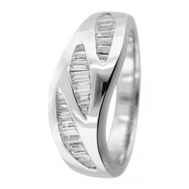 trendor 80524 Silber Zirkonia Ring