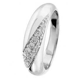 trendor 64512 Damen-Ring Silber 925 poliert mit Zirkonia