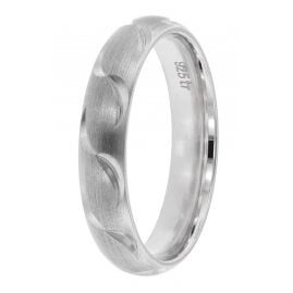 trendor 65250 Silver Promise Rings