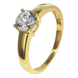 trendor 51306 Gold Ladies Ring