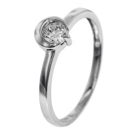 trendor 51559 Ladies Cubic Zirconia Ring