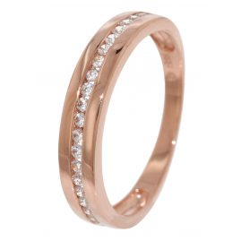 trendor 51665 Rose Gold Ladies Ring