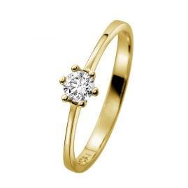 trendor 532470 Gold Brillantring für Damen