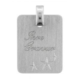 trendor 70074 Silver Engraving Pendant