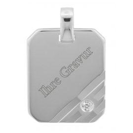 trendor 70265 Silver Engraving Pendant