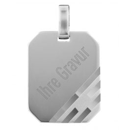 trendor 73877 Silver Engraving Pendant