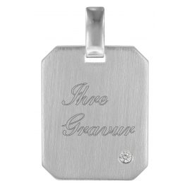 trendor 78742 Engraving Pendant Silver