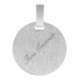 trendor 08305 Engraving Pendant Silver