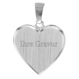 trendor 08525 Silver Engraving Plate Heart