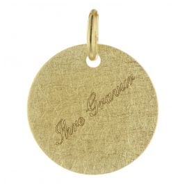 trendor 75697 Engraving Pendant with Name 333 Gold (8 Carat)