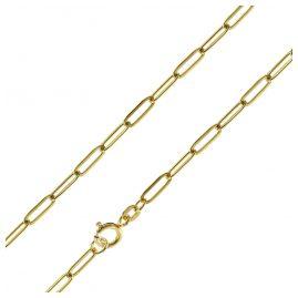 trendor 75650 Halskette für Frauen Silber Vergoldet 45 cm
