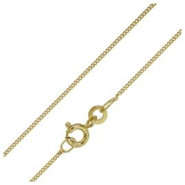 trendor 72023 Necklace for Ladies' And Gents Gold 333 Curb Chain