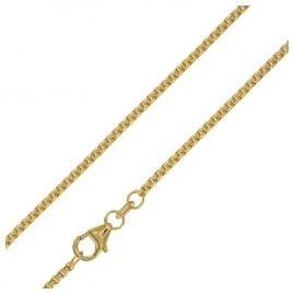 trendor 75156 Halskette für Anhänger 585 Gold 14 Karat Venezia Breite 1,5 mm