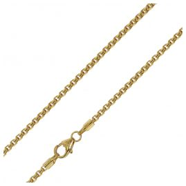 trendor 75166 Necklace 585 Gold 14 ct Box Chain Width 2.0 mm