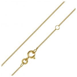 trendor 75619 Children's Necklace 333 Gold 38/36 cm Box Chain